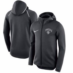 Nike NBA NY Knicks Flex Showtime Sweatshirt Hoodie